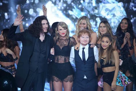hozier family taylor swift and hozier spotted flirting at grammys after