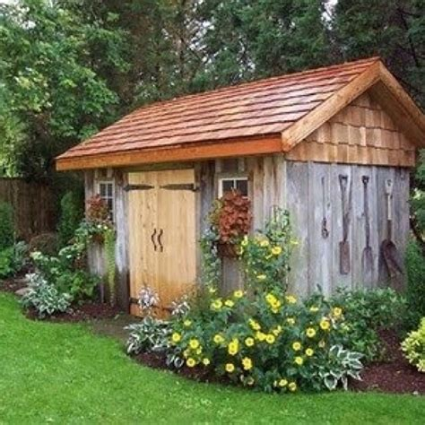 diy backyard shed shedbisa pinterest garden sheds diy
