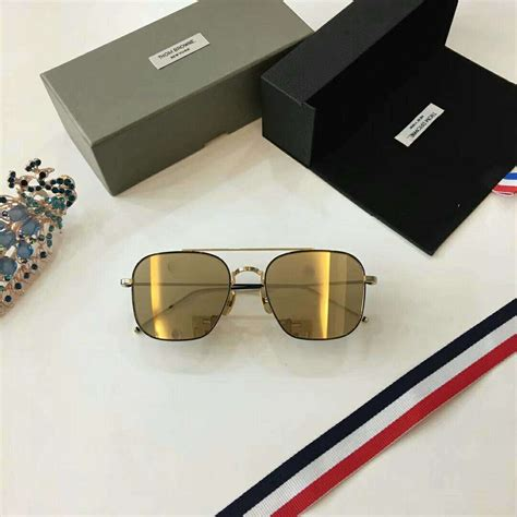 Thom Metal Silver by Thom Browne Sunglasses Thom Browne Silver Tb 106