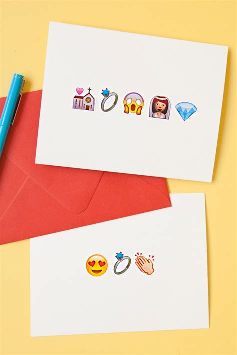 Open Shower Ideas learn how to make these awesome emoji greeting cards