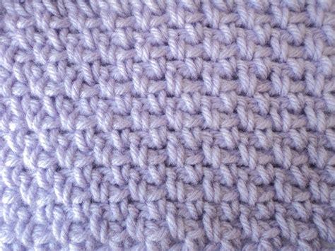 cute little crafts crochet moss stitch
