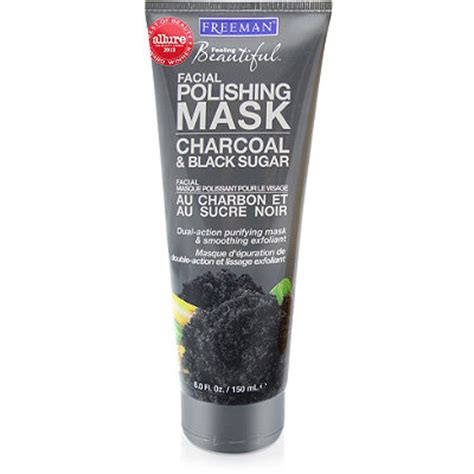 Baby Food Scrub Mask Charcoal freeman charcoal and black sugar polishing mask