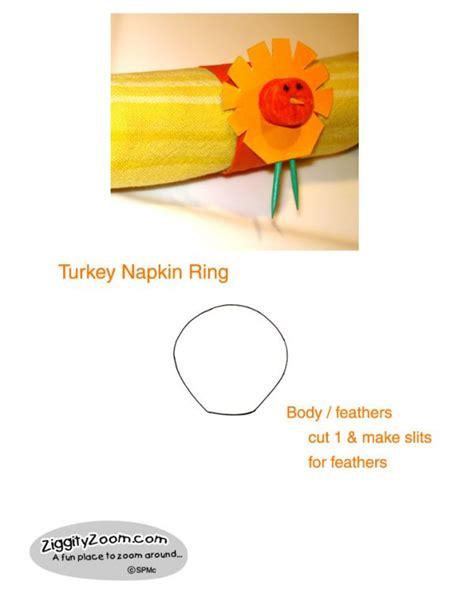 printable thanksgiving napkin ring craft 12 thanksgiving crafts printables for kids ziggity