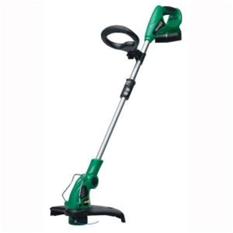 eater 12 in 20 volt cordless string trimmer