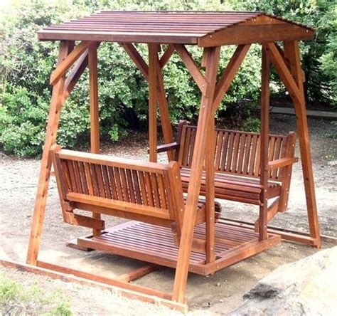 double bench swing free double glider swing plans woodworking projects plans