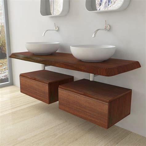 mensole legno massello mensola lavabo in legno massello bordi irregolari spessore