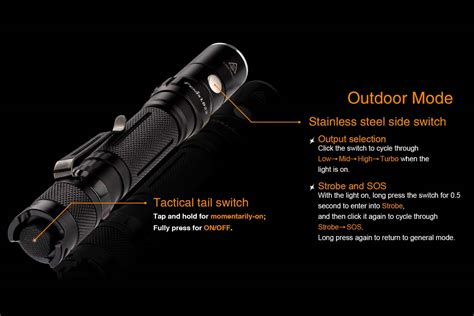 fenix ld ld22 fenix flashlight 2015 upgrade fenix flashlights