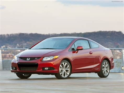 honda civic si coupe 2012 car wallpapers 08 of 38