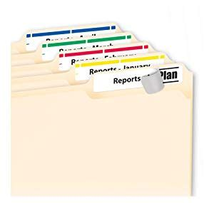 Amazon Com Avery Print Or Write Hanging File Tabs For Laser Printers 1 5 Cut White Pack Of Avery Worksaver Tab Inserts 11136 Template