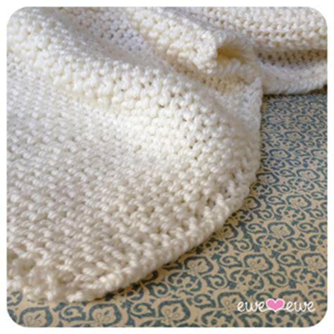Baby Blanket Knitting Kits by Easy Baby Blanket Knitting Kit Nobleknits