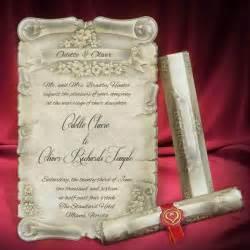 scroll wedding invitation cards scroll wedding invitation card personalized beautiful invitations creative unique wedding