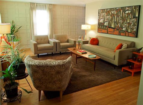glorious mid century chair with orange accents wall art dave makes mid century modern wall panels for his living