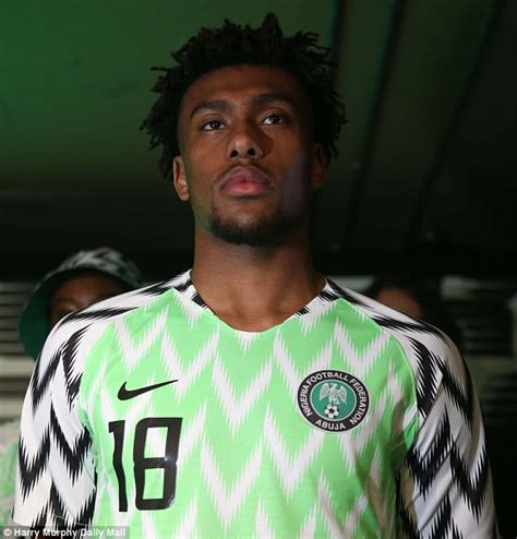 nigeria release 2018 world cup shirts daily mail