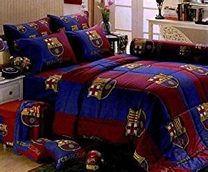barcelona fc bedroom set barcelona football club official licensed bed fitted sheet set queen size bc002 4 pieces set