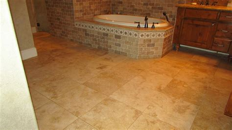 Care For Travertine Tile Floors by Travertine Floor Counter Shower Deroth Restoration