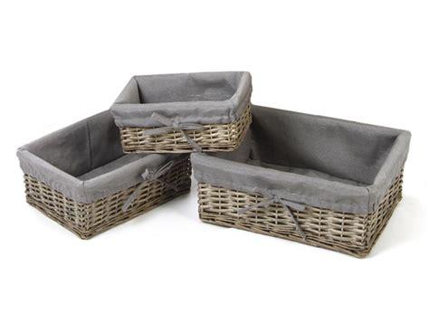 meuble encastrable four 586 meuble de four encastrable 5 panier osier et tissu gris