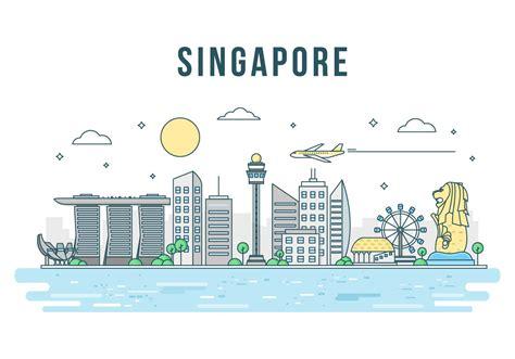 singapore vector   vectors clipart