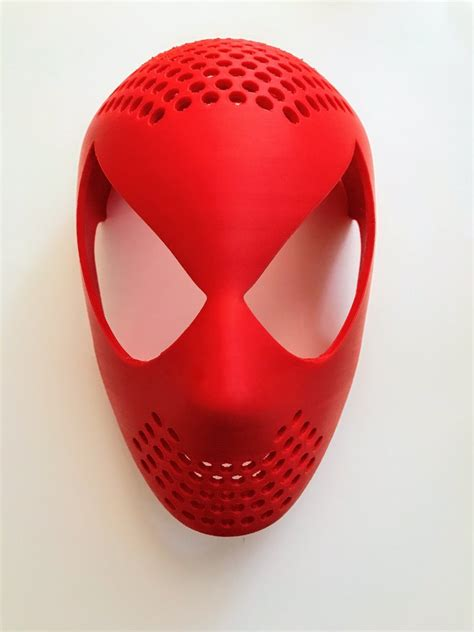spider man universal face shell aesthetic cosplay