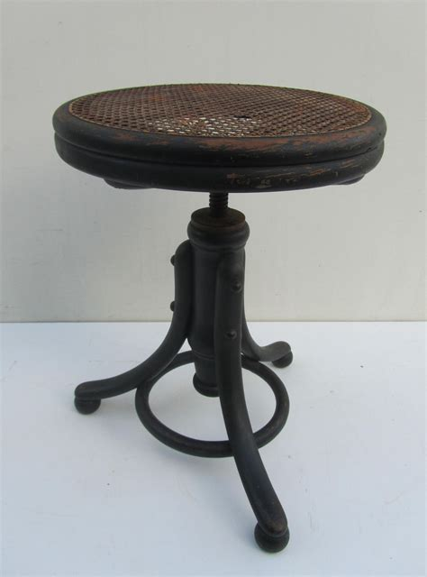 Tabouret Thonet thonet piano stool tabouret adjustable