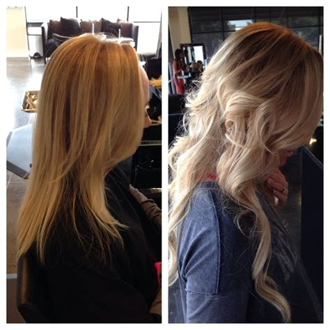 from platinum blonde to ombre reverse ombre from platinum blonde five bundles of