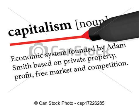 Vector Artwork Definition by Vector Of Capitalism Eps 10 Vector Of Dictionary