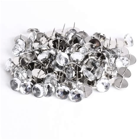 Diamante Upholstery Buttons by 100x Diamante Wall Decorate Upholstery Sofa