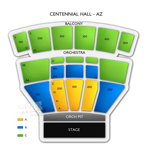 centennial hall az ticket information images frompo
