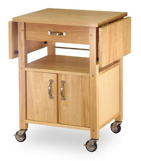 portable kitchen island rolling cart countertop cabinet