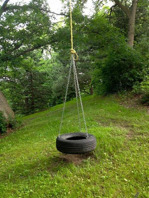 tyre swings diy old fashioned tire swing trees kid and i want