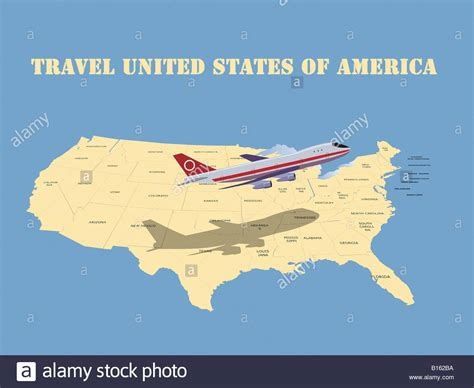 passenger map usa maps update 33162120 usa travel map with states road