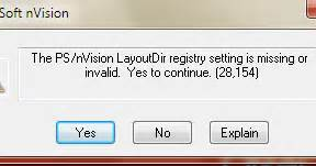 Peoplesoft Nvision by Peoplesoft Nvision Issue Resolution Nvision Layout Directory Registry Setting Missing Or Invalid