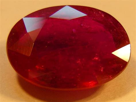 505 Cts Ruby cert 5 05 cts faceted cut ruby 11 985