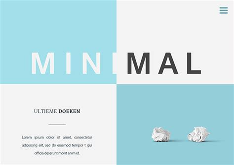 Web Design Trends You Should Know Furnedesigns Minimalist Web Templates
