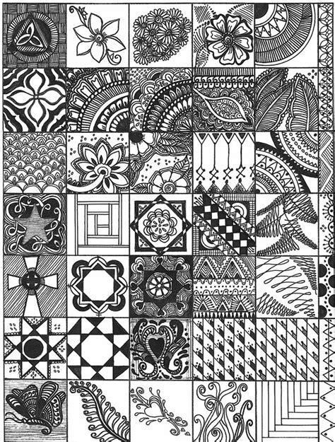zen of design patterns zentangle sler drawing zentangle pinterest