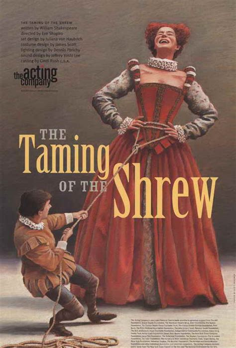 The Taming Of The Shrew 2 by The Taming Of The Shrew Broadway Posters From
