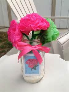 Party decoration jar madness 70th birthday mason jars party ideas