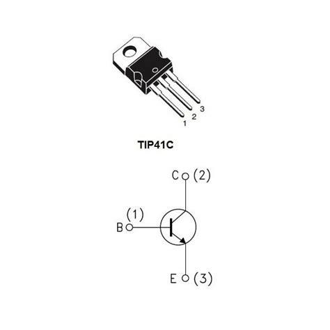 transistor de potencia tip41c tip41