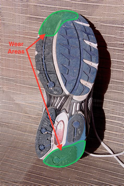 running shoe wear pattern what your running shoe wear pattern can tell you and