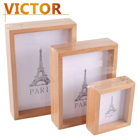 modern wooden photo frames for family baby wedding picture