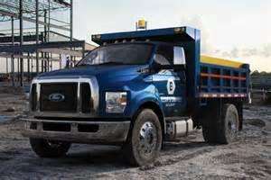 2016 ford f 650 f 750 medium duty trucks revealed