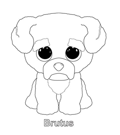boo dog coloring page brutus coloring page diy arts and crafts pinterest