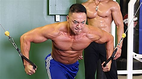 sle of workout clark s best 5 minute chest workout with clark s student