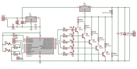 lab bench power supply circuit diagram digital voltage power supply electronics lab
