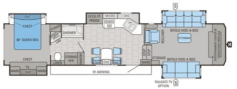 fifth wheel toy hauler floor plans jayco 2016 floorplans 5th wheels autos post