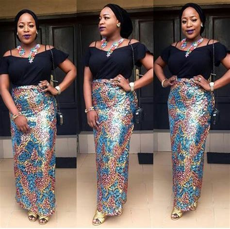 ankara and lace styles latest lace and ankara aso ebi styles for you this week