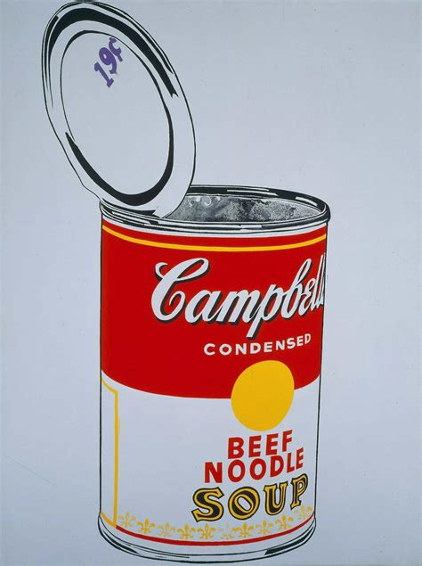 andy warhol soup cans left bank regarding regarding warhol