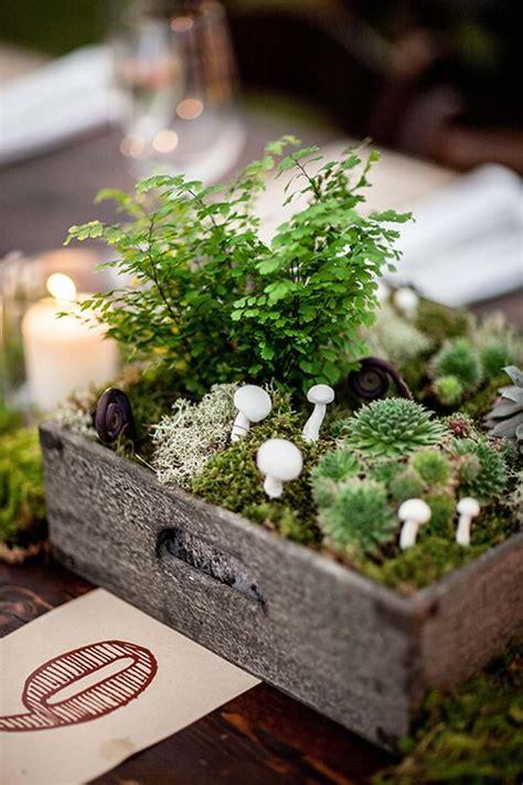 budget friendly moss wedding decor ideas weddingomania