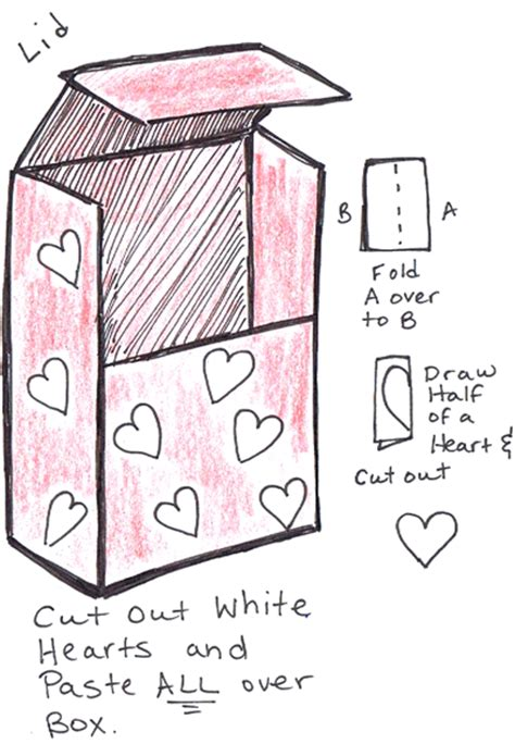 How To Make A Paper Mailbox - how to make valentines day mailbox backpack with cereal