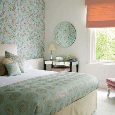 bedroom wallpaper  soft colors   wall decoration