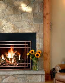 lighting gas fireplace home interior